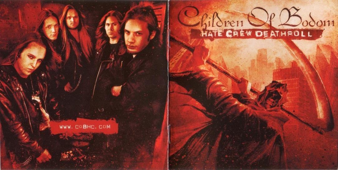 Children Of Bodom - Hate Crew Deathroll - Front
